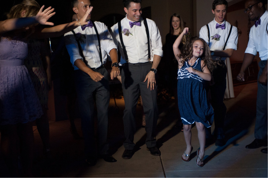 Girl Dancing during FUN reception