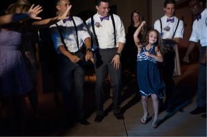 Girl Dancing during FUN reception
