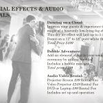 Special Effects and Audo Visuals