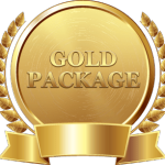 gold-package emblem